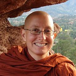 Tuesday Night Teacher-Led Sit with Amma Thanasanti Bhikkhuni
